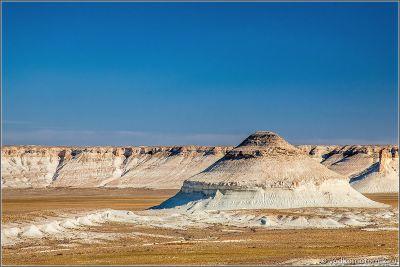 Казахстан - виды плато Устюрт