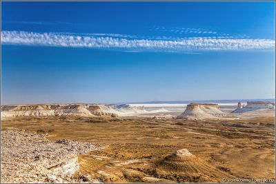 Казахстан плато Устюрт Босжира
