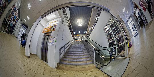 3D тур 360° по торговому помещению сдаваемому в аренду