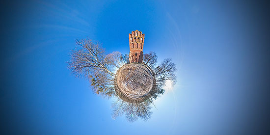 Кирха Святой Катарины в п.Владимирово - 3D тур и эропанорама 360°