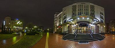 Панорама 360° отель Кайзерхоф в Рыбной деревне в Калининграде