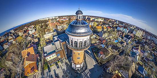 Аэропанорама 360° над Мурариумом г.Зеленоградск