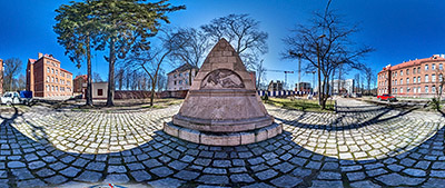 Панорама 360° Памятник немецким саперам Первой мировой войны в Калининграде