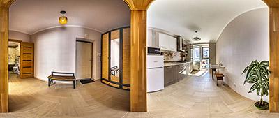 3D тур по апартаментам - образец панорамной съемки 360°