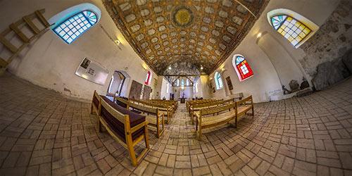 Кирха Святой Анны 1305 г. 3D тур 360° пос. Гвардейское