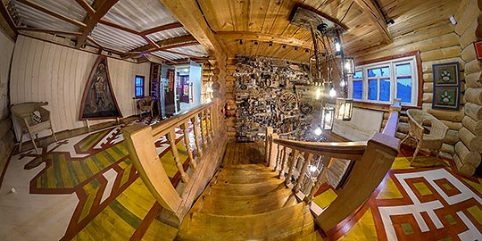 Панорама 360° визит-центра в Вершинино