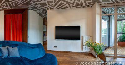 Виртуальный 3D тур по квартире с дизайнерским ремонтом и окружающей территории дома