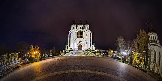 Храм Христа Спасителя в Калининграде - панорама 360°
