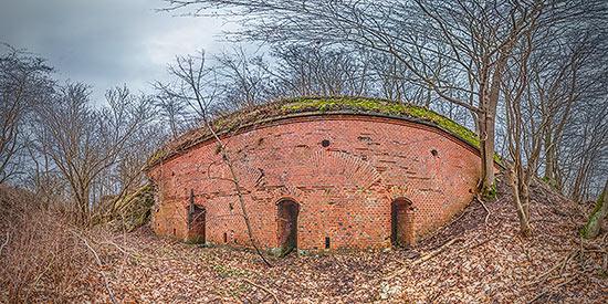 Немецкий бункер около ТЭЦ-2 - 3D тур