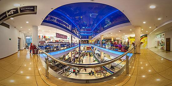 Панорама 360° торгового комплекса ЭПИЦЕНТР в Калининграде