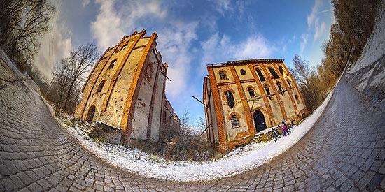 Довоенная мельница в Корнево (Zinten) - 3D тур 360°