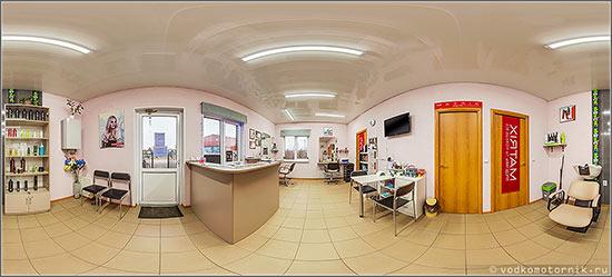 3D тур 360° по салону парикмахерской г.Калининград