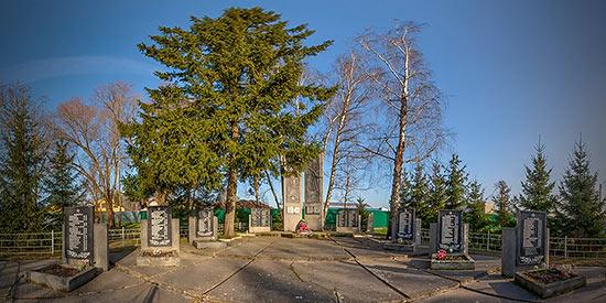 Братская могила пос. Комсомольск - 3D тур 360°