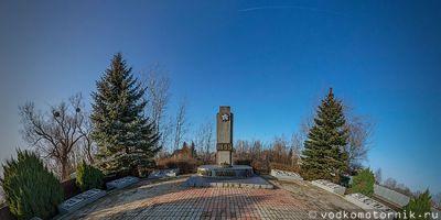 Братская могила советских воинов п.Чехово - 3d тур