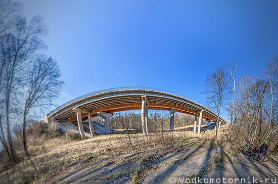 3D тур Чертов мост Калининградская область