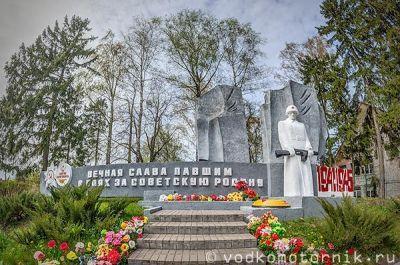 Братская могила 39-145, п. Домново - 3D виртуальный тур