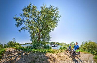 Дамба на реке Ржевка панорама 3d 360°