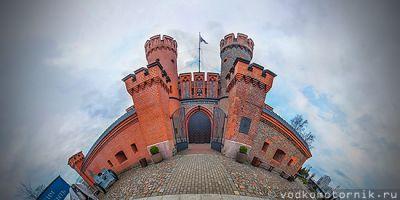 3D тур 360° - Ворота цитадели Фридрихсбург, Калининград