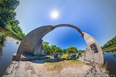Мост на Немонинском канале - 3D панорама