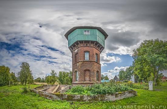 3D тур - Железнодорожная водонапорная башня п.Светлое
