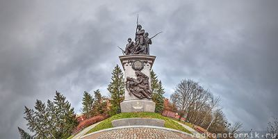 3D тур - Памятник героям Первой мировой войны, Калининград