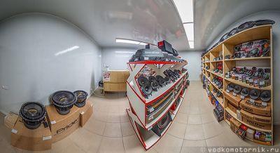 3D тур магазина автозвука Shafraiaudio