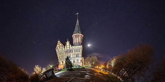 3D виртуальный тур по Рыбной деревне и исторической части Калининграда: Кнайпхоф и Ломзе