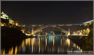 Порту - ночной мост