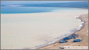 Дельта реки в Марокко