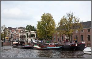 Амстердам - баржи