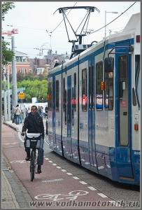 Амстердам - велосипедист