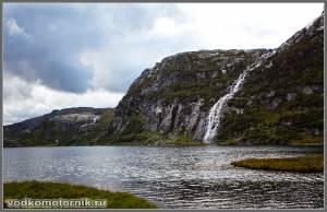 Водоем в горах
