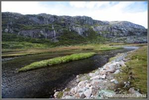 В норвежских горах