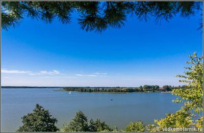 Вид на озеро Свенцайты