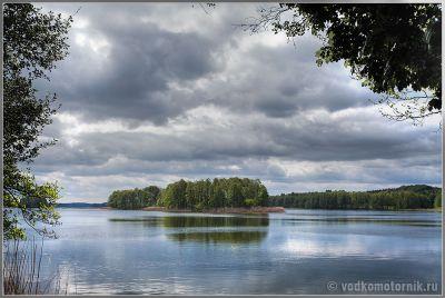Варминьско - Мазурский водный пейзаж