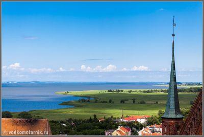 Frombork - вид на Вислинский залив