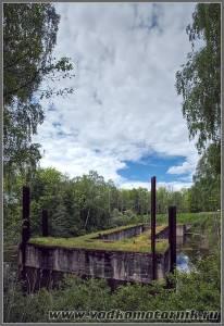 Мазурский канал. Шлюз Lesniewo