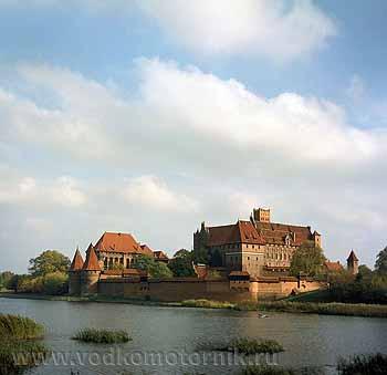 р. Ногат - Мальборк. Самый большой замок средневековья!