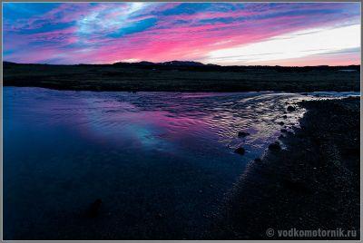 Исландия Аскья - ручеек