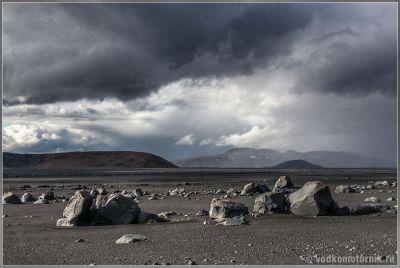 Исландия. Каменные поля