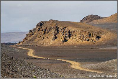 Исландия. Район Аскья - типичный автобан с индексом F