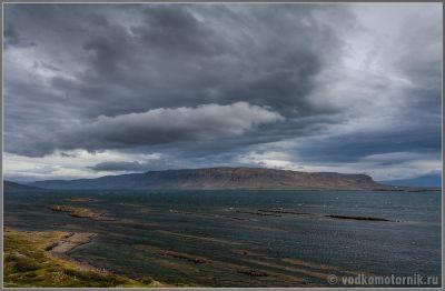Исландия - Iceland - обнаженные мели