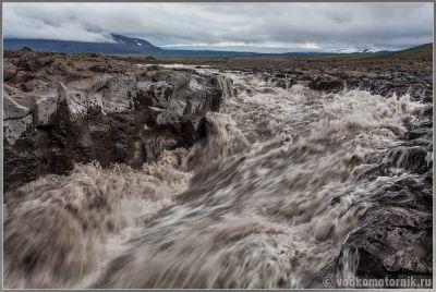 Мутные воды Исландии. Iceland.