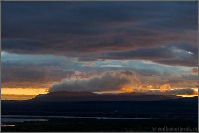 Предзакатная. Исландия - Iceland.