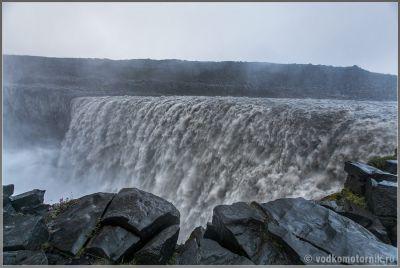 Исландия - водопад Деттифосс