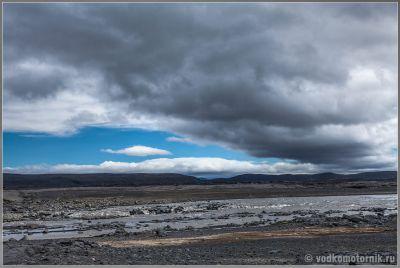 Исландия - ландшафты перед Аскья