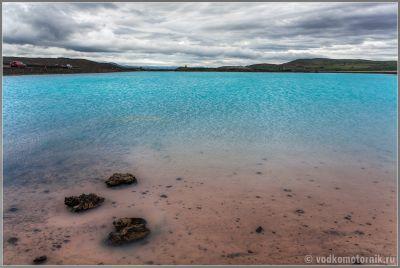 Исландия - горячее озеро