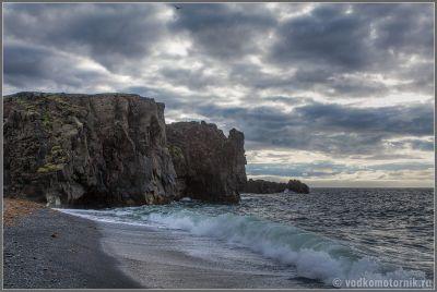 Исландия. Северный прибой