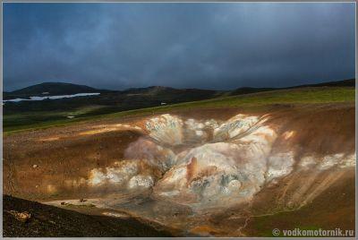 Исландия. район Крафла