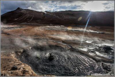 Исландия. Район Námafjall